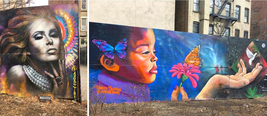 NYC Bowery Houston Street Art