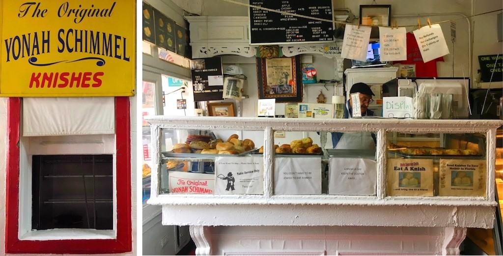 Yonah Shimmel Knish Bakery NYC