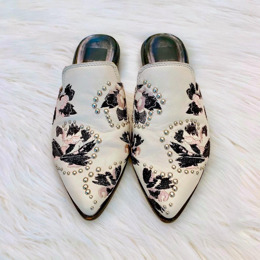 dolce-vita-mules-floral