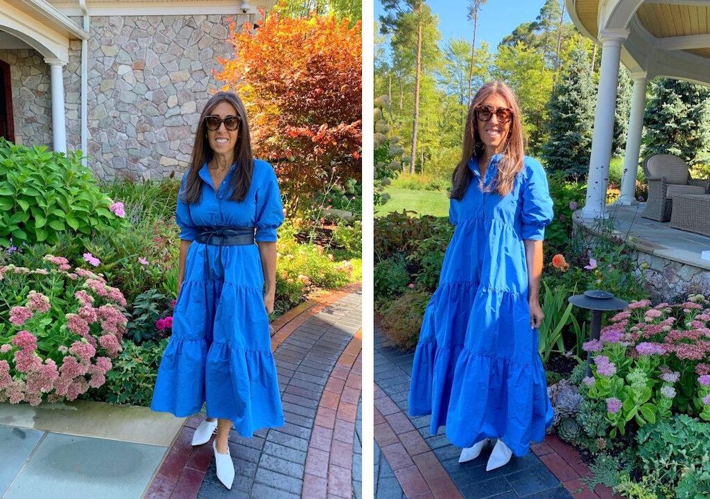 Zara-voluminous-dress